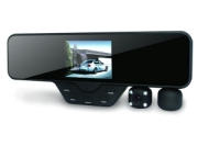 A060B - Car black box, mirror type, 2 cameras, A/V, 5 MP senzor, 8 IR Led