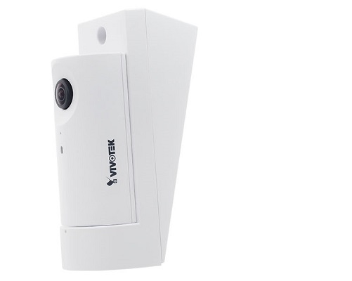 CC8160, Camera IP cube de int, 2MP, 180˚ panoramic view, 1.66 mm, audio, tilt 15°cu suport, POE class 2, H.264, Smart Stream II, WDR