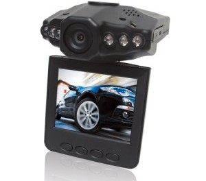 "M-350 - Car Audio/Video Recorder, 2.5"" color TFT, 6 InfraRed LED's"